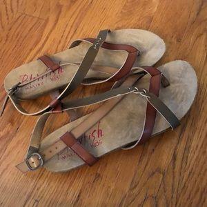 Girls Blowfish Sandals size 5